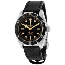 Tudor Heritage Black Bay Automatic Aged Leather Mens Watch 79220N-BKLS