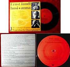 EP Ernst Jandl: Hosi + Anna (Wagenbachs Quartplatte 6) - ohne Plakat - D 1971