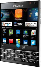 "Deal 07: New Imported BlackBerry Passport 32GB 3GB 4.5"" 13MP 2MP Black Colour"