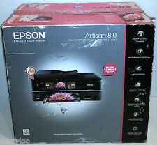 EPSON ARTISAN 810 ALL-IN-ONE CD/DVD COLOR PRINTER FAX COPY SCAN WI-FI Wireless