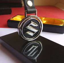 Classic look  SUZUKI  Round Car Key Chain / car keychain