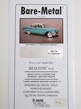 Bare Metal Foil Matte Aluminum Foil (1 Sheet) BMF011 Models & Masking & Projects