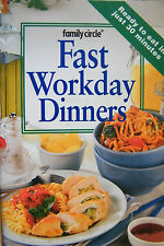Fast Workday Dinners Family Circle Mini Cookbook Small Softcover