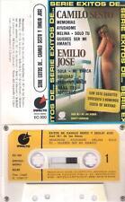 CAMILO SEXTO y EMILIO JOSE Exitos  CASSETTE Jose Maria de las Heras NUDE COVER