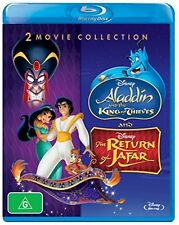 Aladdin King of Thieves + The Return of Jafar [Blu-Ray] Disney