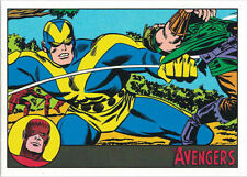 Marvel Avengers Silver Age 30 Gold Parallel Chase Card 01/10