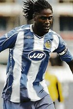 Football Photo MARIO MELCHIOT Wigan Athletic 2007-08