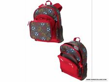 NWT Gymboree Red Sports Print Canvas Backpack & Lunch Box Combo