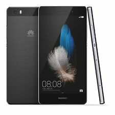 Unlocked HUAWEI P8 Lite 5.0'' 4G LTE Smartphone Octa Core Android Black 16GB