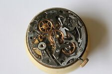 ANGELUS 215 Revue spares vintage watch movement corona crown dial chronograph