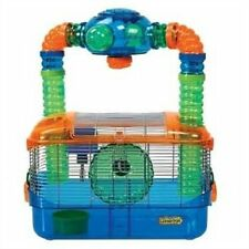Kaytee CritterTrail Triple Play Three-In-One Habitat for Hamsters , New, Free Sh