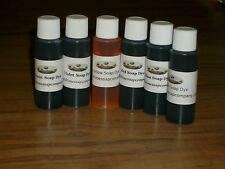 Green Soap Dye Liquid Coloring 1/2 oz Bottle