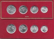 SERIE DIVISIONALE 1946 lire FDC Repubblica Italiana 1946 - 2001 riconio