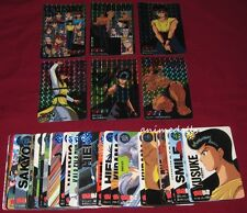 Anime Yu Yu Hakusho Bandai Carddass Part 4 Bandai 1994 Full Card Set w/ 6 Prisms