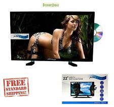 "22"" Artica AR2218 12 Volt AC/DC LED Digital HDTV w/ DVD Player, Remote Control"