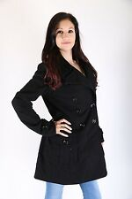 Only Damen  Winter Mantel Jacke Carla Wool Jacket Wool Coat caviar Größe  M