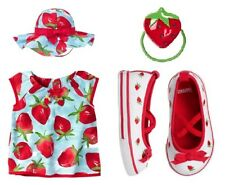 "NWT GYMBOREE BURST OF SPRING ""STRAWBERRY"" SHIRT/TUNIC size 2T with hat and shoes"