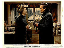 DR ZHIVAGO 1965 Omar Sharif VISITING SCENE  original UK lobby card