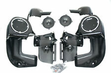 "Mutazu Lower Vented Fairing Speaker 5.25"" Kit fits Harley H-D Touring FLH FLT"