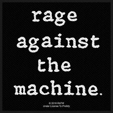 Rage against the Machine Logo Patch/Sew-on Patch 602676 #