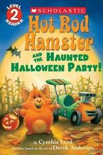 Hot Rod Hamster and the Haunted Halloween Party! (Hot Rod Hamster)-ExLibrary