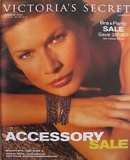 BASIA MILEWICZ Vintage Holiday 2000 VICTORIA'S SECRET Catalog ACCESSORY BOOK