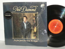 NEIL DIAMOND I'm Glad You're Here With Me Tonight LP You Don't Bring Me Flowers