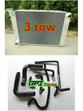 3ROW for Holden Commodore VG VL VN VP VR VS V8 Aluminum Radiator Manual +bl HOSE