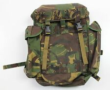 GENUINE DUTCH ARMY PATROL BACKPACK RUCKSACK in DPM WOODLAND CAMO APPROX 25 LITRE