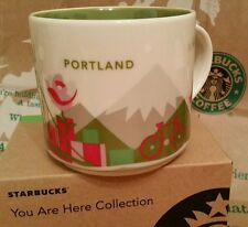 Starbucks Coffee Mug/tasse/Gobelet portland/Oregon, yah, nouveau M. sticker I. OVP-box!