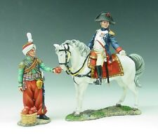 KING & COUNTRY NA026 Mounted Napoleon and Mameluke Servant Set  RETIRED