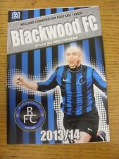 03/12/2013 BLACKWOOD V wednesfield [ Birmingham midweek TAZZA ] [ AT Highgate Uniti ]