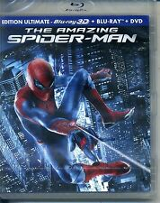 THE AMAZING SPIDER MAN   bluray 3D + bluray + dvd ref 0209164