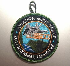 2013 National Scout Jamboree AVIATION MERIT BADGE