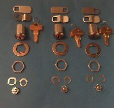 3 Snap-on Toolbox locks keyed alike with 6 keys-Snapon-Tool box snap on key lock
