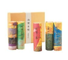 Sanshi Suimei Kyoto Mountain & River 5-Scent Set of Incense by Kousaido of Kyoto