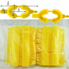 100 pcs MEDIUM Yellow Dental Dual Arch Trays For Gel or Foam Fluoride Disposable
