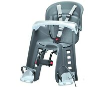 Polisport Bilby Junior Grey Bicycle Child's Seat Bicycle seat for front Tüv/GS