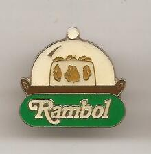 Pin's pin FROMAGE CHEESE RAMBOL SOUS CLOCHE (ref H39)