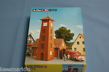 "KIBRI 8172 Fire Station ""Bahlburg""& Ford Fire Truck   Un-build KIT HO"