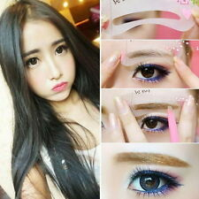 Korean Fashion Style Eye Brow Class Drawing Guide Eyebrow Stencil Card Assistant