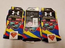 Under Armour Kids Youth Performance Superman Crew Socks 1 pair YL U478-BLUE