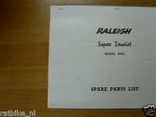 R0505 RALEIGH---SPARE PARTS LIST---SUPER TOURIST MODEL RM2-MODEL