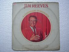 JIM REEVES A LEGENDARY PERFORMER  RARE LP record vinyl INDIA INDIAN EX