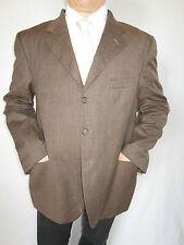 Mens MARLANE Designer Vtg 80s Wool Single Breast Smoking Suit Jacket sz 2XL AO76