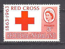 RHODESIA , RED CROSS , 1963 , 100 YEAR ANNIV. , STAMP ,  PERF , MNH
