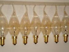 Ampoule Flamme Coup de Vent claire fumee GIRARD SUDRON LAMPE CROZE 40W E14 NEUVE