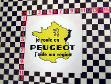 French Peugeot Sticker - 104 203 204 Cabriolet 504 404 205 GTi