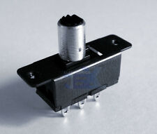 Metal Double Pole Single Throw DPST Switch for Low Power On Off Toggle
