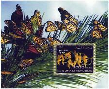 BUTTERFLY INSECT SOMALI REPUBLIC 2006 MNH STAMP SHEETLET